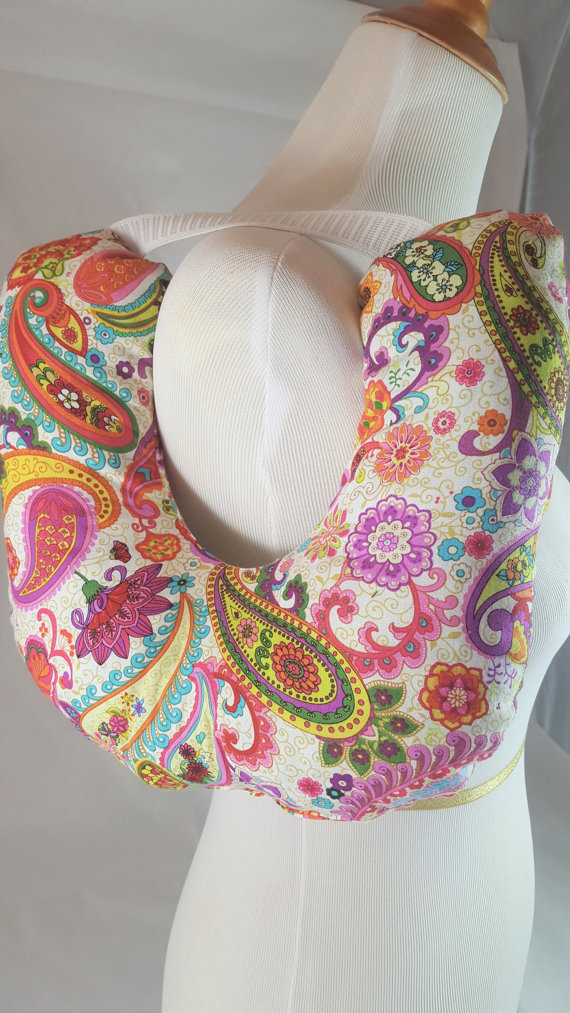 Post Surgery Mastectomy Pillow Brite Paisley 7 Stiches