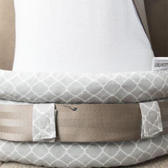 abdominal seat belt pillow