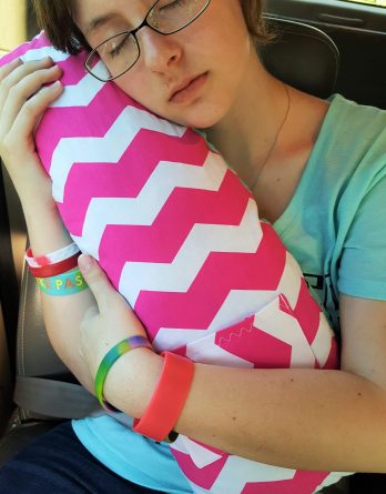 Seat Belt Travel Pillows