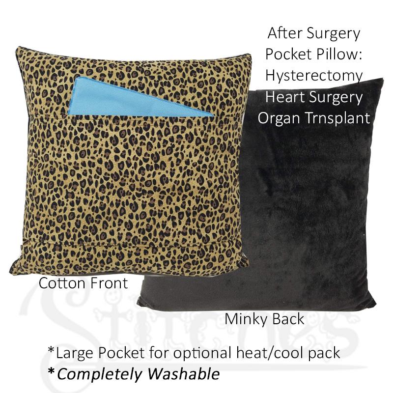 leopard front back